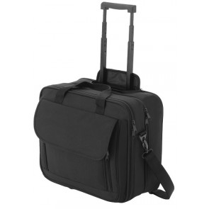 "15.4 ""laptop suitcase with wheels, black"
